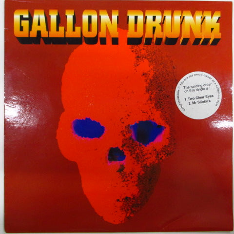 "GALLON DRUNK - Two Clear Eyes (UK Orig.7"")"