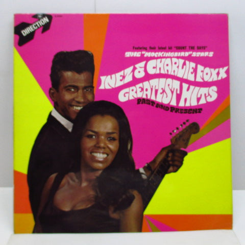 INEZ & CHARLIE FOXX - Greatest Hits (UK Orig.Stereo LP/CS)