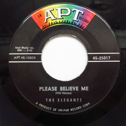 ELEGANTS - Please Believe Me / Goodnight (Orig)