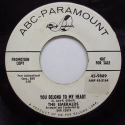 EMERALDS - You Belong To My Heart (Promo)