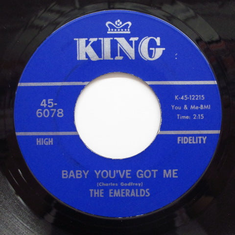 EMERALDS - Baby You've Got Me / Promises (Orig)