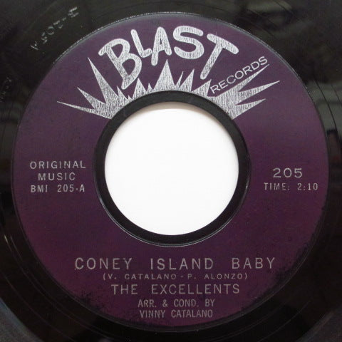 EXCELLENTS - Coney Island Baby (Reissue Purple Label)