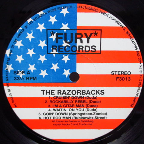 RAZORBACKS (US) - Cruisin' Down (UK Orig.LP)