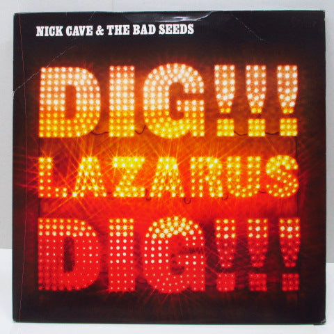 "NICK CAVE AND THE BAD SEEDS - Dig, Lazarus, Dig!!! (EU Reissue LP+12"")"