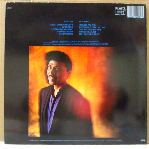 LITTLE RICHARD (リトル・リチャード)  - Lifetime Friend (EU Orig.LP)
