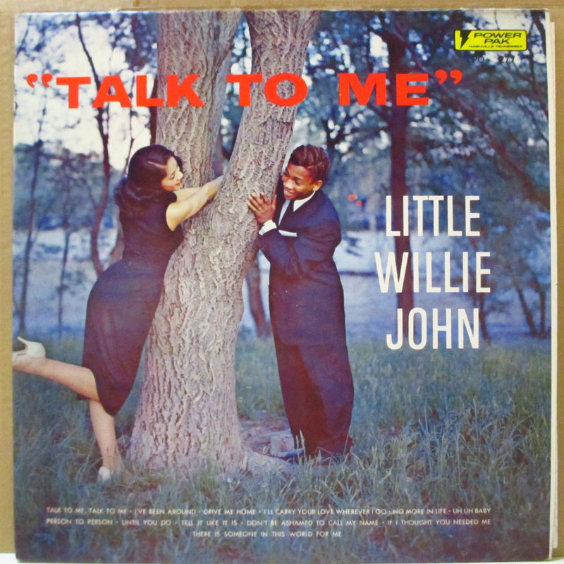 LITTLE WILLIE JOHN (リトル・ウィリー・ジョン)  - Talk To Me (US '75 Reissue Mono LP)