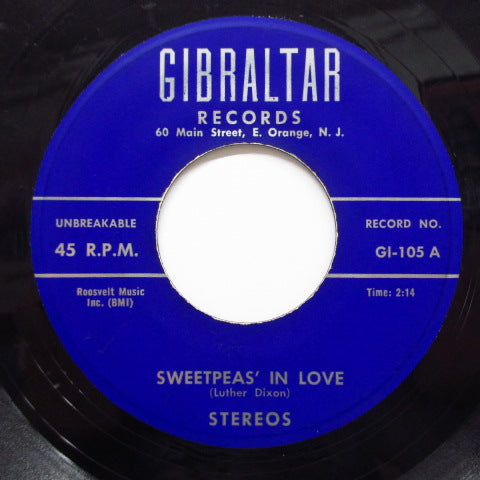 STEREOS - Sweetpea's In Love (Orig)