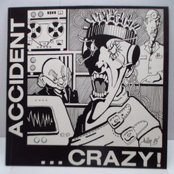 MAJOR ACCIDENT - Crazy! (UK Reissue LP/Link)