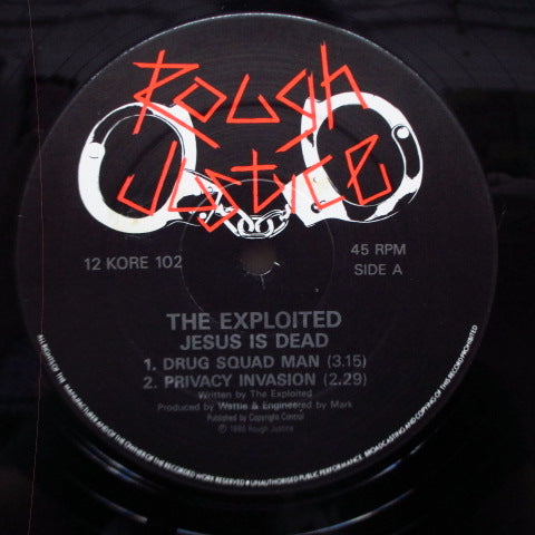 "EXPLOITED, THE - Jesus Is Dead E.P. (UK Orig.12"")"