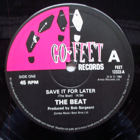 "(English) BEAT, THE - Save It For Later (UK Orig.12"")"