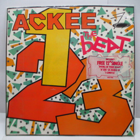 "(English) BEAT, THE - Ackee 1-2-3 (UK Ltd.2 x 12""/Stickered CVR)"