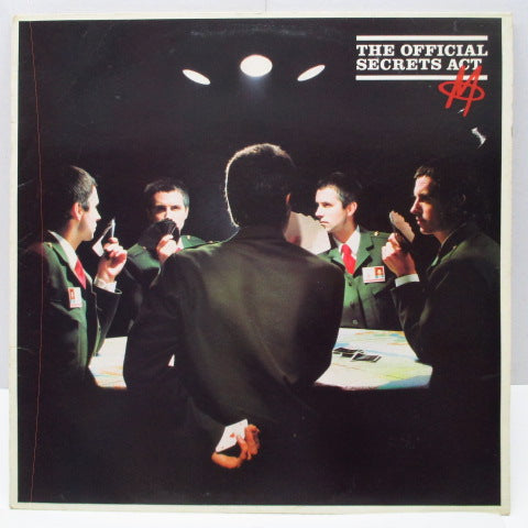 M - The Official Secrets Act (UK Orig.LP)