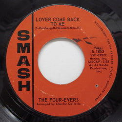 FOUR-EVERS - Lover Come Back To Me (Orig)
