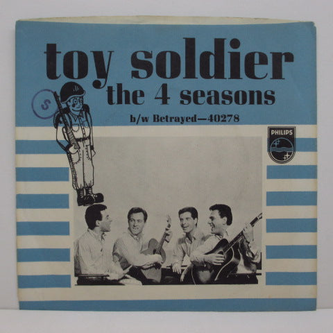 "FOUR SEASONS - Toy Soldier / Betrayed (US Orig.7""+PS)"