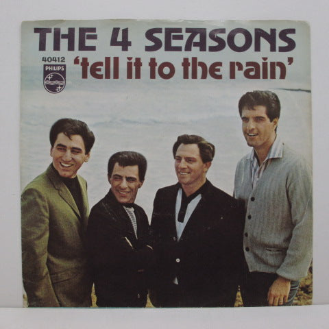 "FOUR SEASONS - Tell It To The Rain (US Orig.7""+PS)"