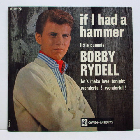 BOBBY RYDELL - If I Had A Hammer +3 (French EP)