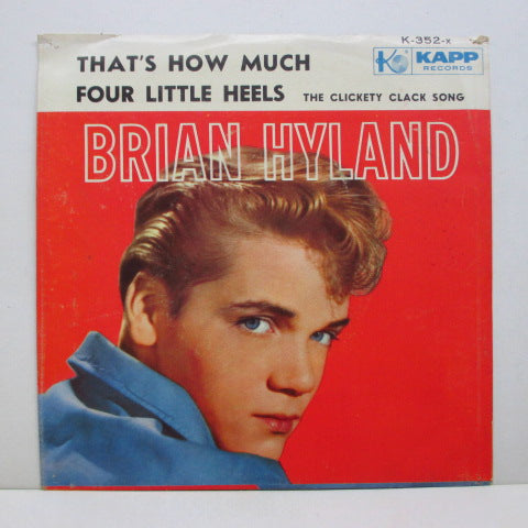 BRIAN HYLAND - That's How Much (Orig+PS)