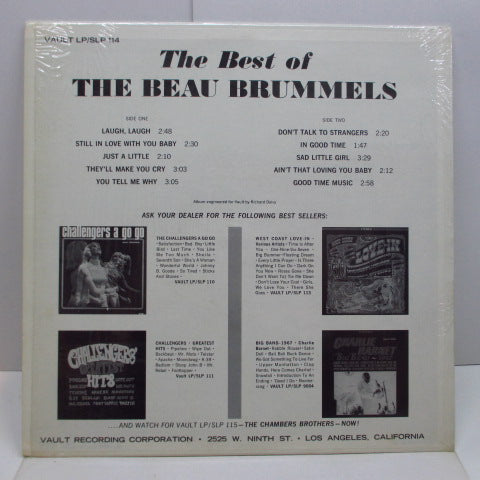 BEAU BRUMMELS - The Best Of The Beau Brummels (US Orig.Stereo LP)