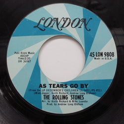 "ROLLING STONES - As Tears Go By (US Orig.7"")"