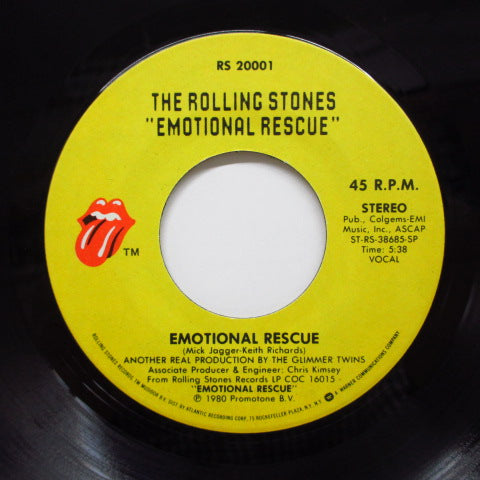 "ROLLING STONES - Emotional Rescue (US Orig.7""+PS)"