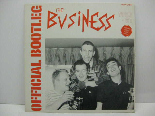 BUSINESS, THE - Back To Back (UK Reissue 2xLP)