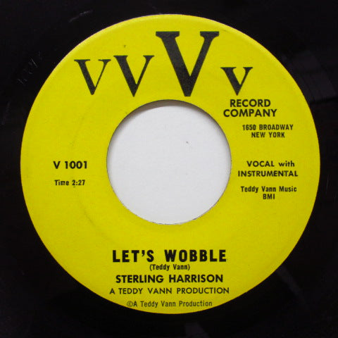 STERLING HARRISON - Let's Wobble (Orig)