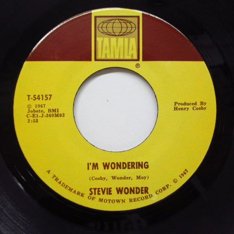 STEVIE WONDER - I'm Wondering (Orig)