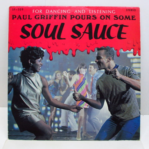PAUL GRIFFIN - Paul Griffin Pours On Some Soul Sauce (CANADA Orig.Stereo)