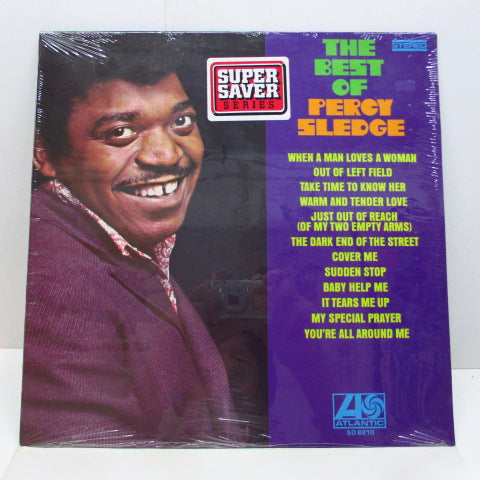 PERCY SLEDGE - The Best Of Percy Sledge (US 80's Reissue Stereo/Seald)