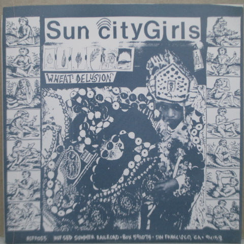 "SUN CITY GIRLS / THINKING FELLERS UNION LOCAL 282  - Outhouse Of The Pryeeeeeeee (US Orig.7"")"