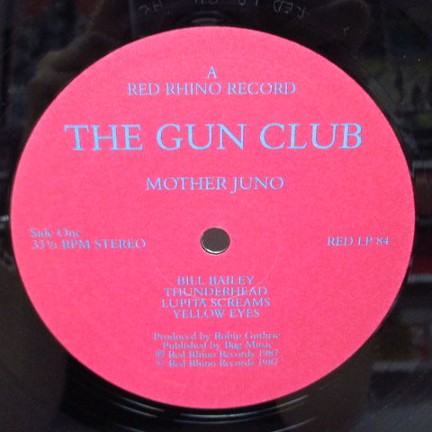 GUN CLUB, THE - Mother Juno (UK Orig.LP/Red Lbl.)