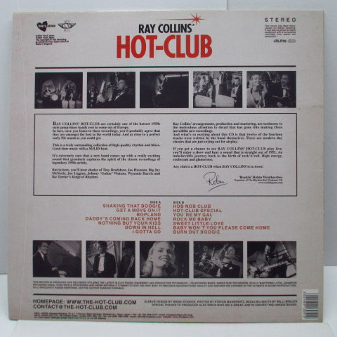 RAY COLLINS' HOT-CLUB - Shaking That Boogie (UK Orig.LP)