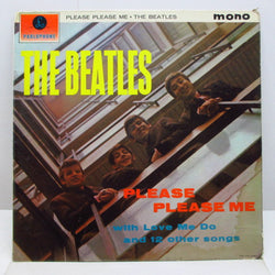 BEATLES - Please Please Me (UK 2nd Press Gold Logo Mono LP/CFS)