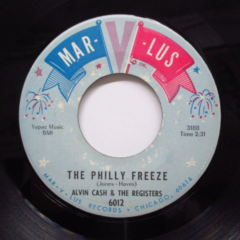 ALVIN CASH & THE CRAWLERS - The Philly Freeze (Orig)