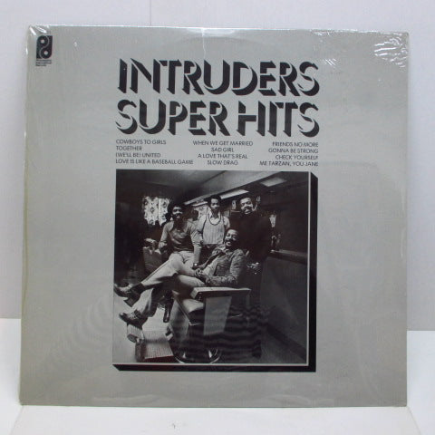 INTRUDERS - Super Hits (US Reissue/Seald)
