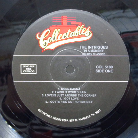 INTRIGUES - In A Moment (US Orig.)
