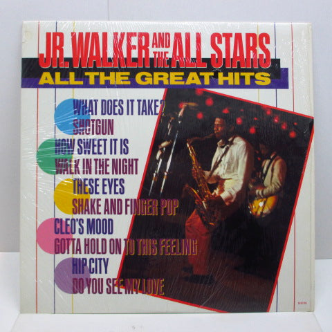 JR.WALKER & THE ALL STARS - All The Great Hits (US Orig.)