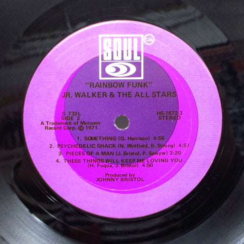 JR.WALKER & THE ALL STARS - Rainbow Funk (US Orig.Stereo)