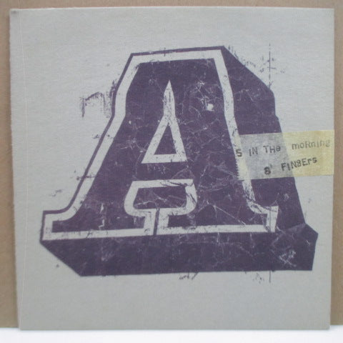 "A - 5 In The Morning (UK Promo.7""/Blue PS)"