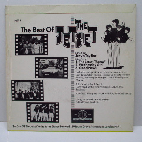 JETSET, THE - The Best Of The Jetset (UK Orig.EP)