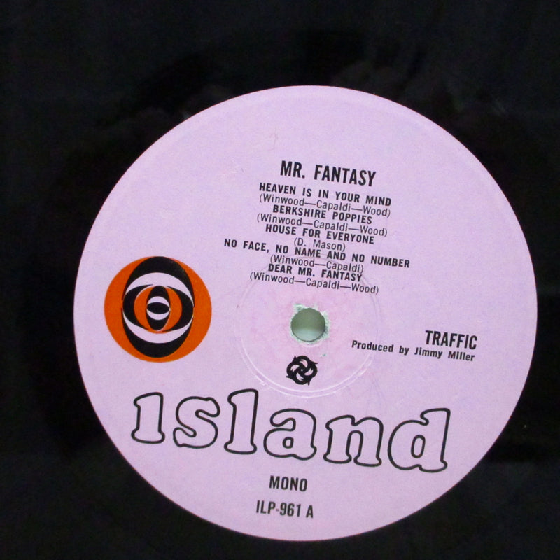 TRAFFIC (トラフィック)  - Mr.Fantasy (UK Orig.Mono LP/CFGS)