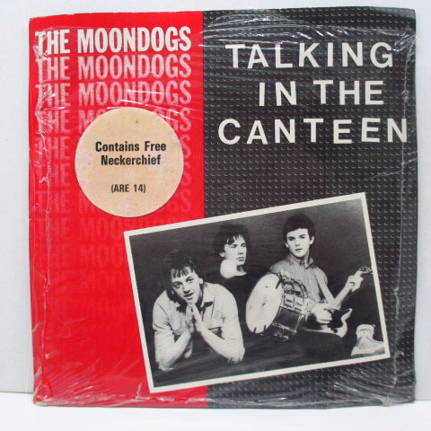 "MOONDOGS, THE - Talking In The Canteen (UK Orig.7""+Neckerchief)"