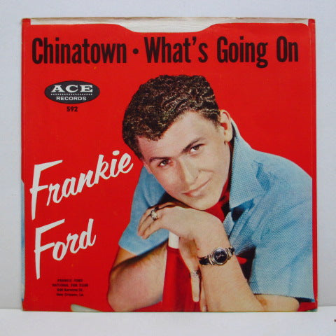 FRANKIE FORD - What's Going On (2nd Press+PS)