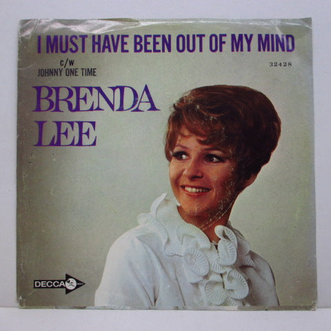 BRENDA LEE - Johnny One Time (Orig+PS)
