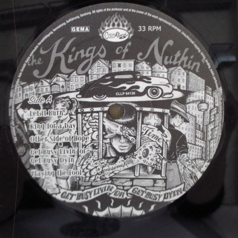 KINGS OF NUTHIN' - Get Busy Livin' Or Get Busy Dyin' (German Orig.LP/GS)
