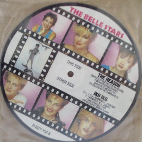 "BELLE STARS, THE - Iko Iko (UK Orig.Picture 7""/PVC)"