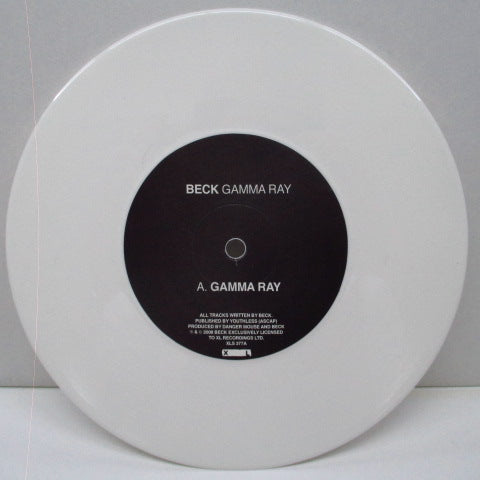 "BECK - Gamma Ray (US Orig.7"")"