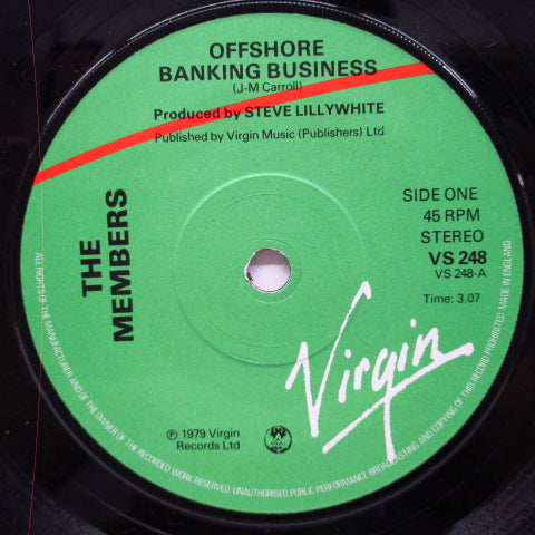 "MEMBERS, THE - Offshore Banking Business (UK Orig.7"")"