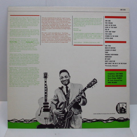 LOWELL FULSON (FULSOM) - Man Of Motion (UK-FRANCE Orig.)