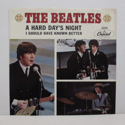 BEATLES - A Hard Days Night (US Orig.+PS)